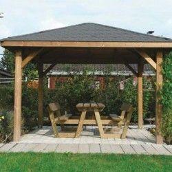 Kiosque de jardin 12,04 m²