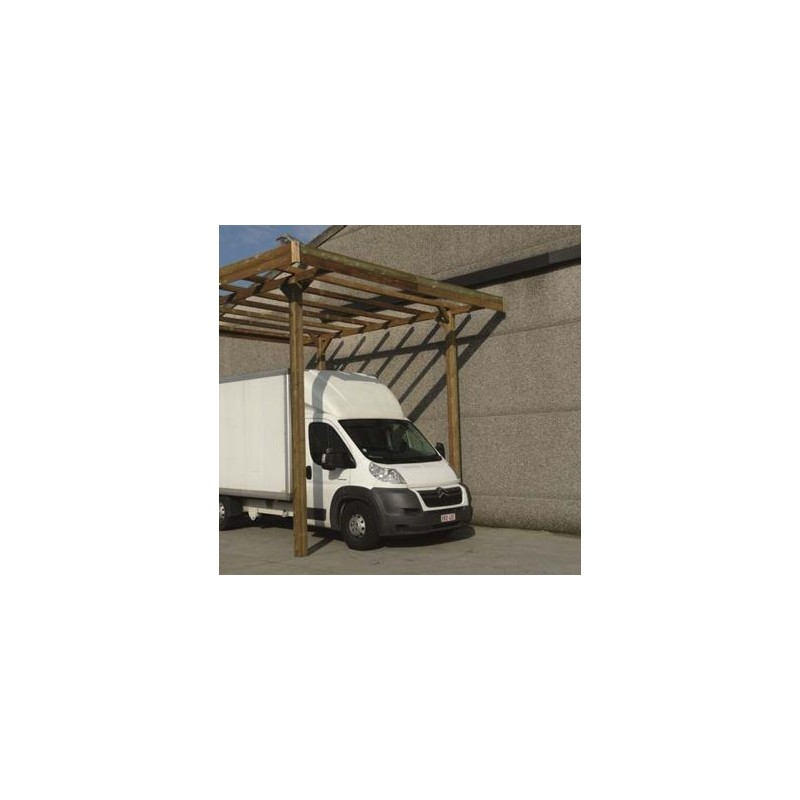 carport base 4x5 hauteur 4m. Black Bedroom Furniture Sets. Home Design Ideas