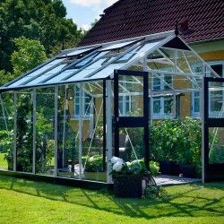 Serre en verre trempé Premium 10,9m²