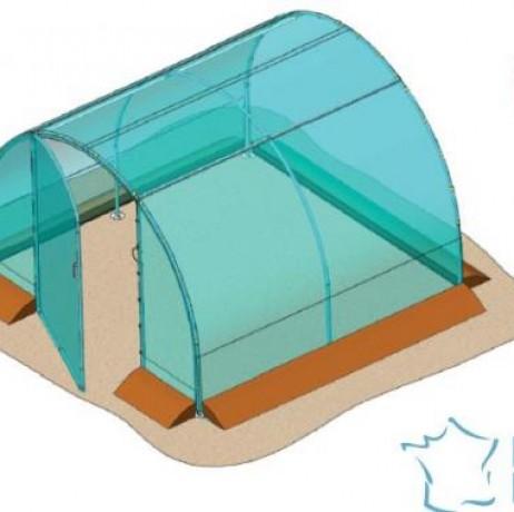 Serre Tunnel Richel – 9m² - largeur 3m x 3m