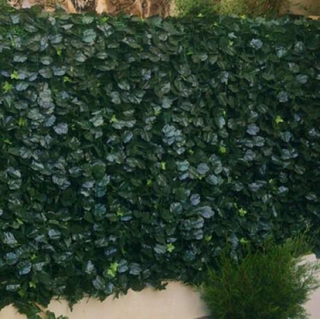 Haie végétale artificielle 'Feuillage DUO' H 1m ou 1m50