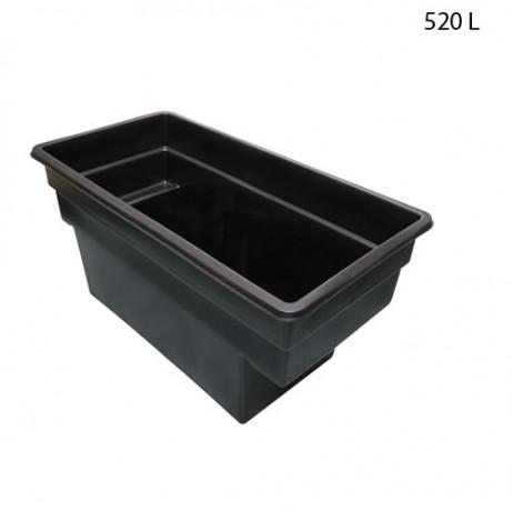 Bassin préformé modulable Quadra 520 L /1500 L
