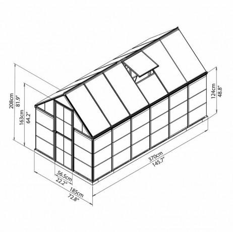 Hybrid 6,84 m²