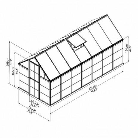 Hybrid 7,88 m²
