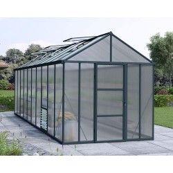 Serre de jardin en polycarbonate Glory 14,9 m²