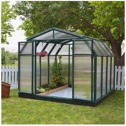 Serre de jardin en polycarbonate Rion Hobby Gardener 7,07 m²