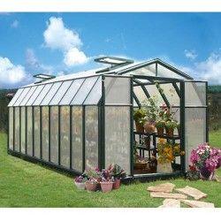 Serre de jardin en polycarbonate Rion Hobby Gardener 17,06 m²