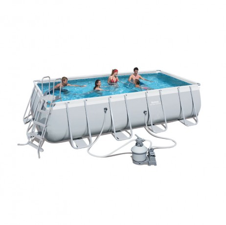 Kit piscine rectangulaire Power Steel Frame