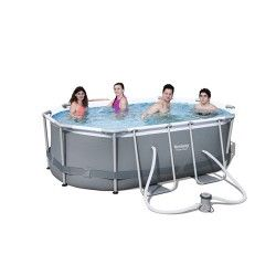 Kit piscine ovale Power Steel Frame I