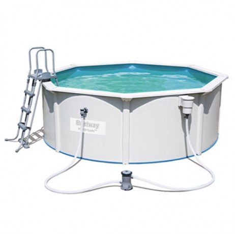 Kit piscine ronde en acier steel wall for Piscine ronde acier