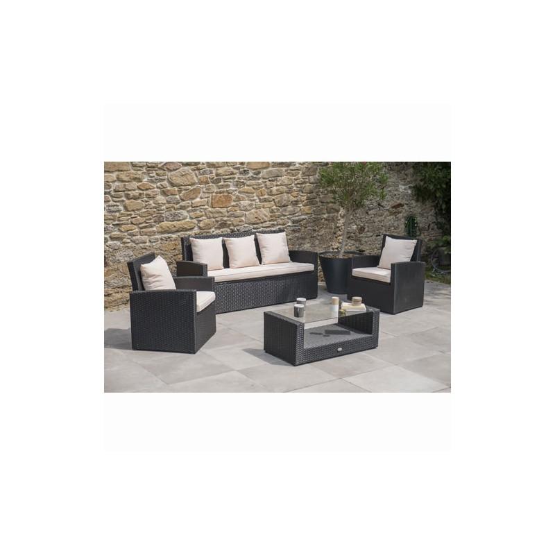 Emejing Table Jardin Resine Tressee Fidji Ideas - House Design ...