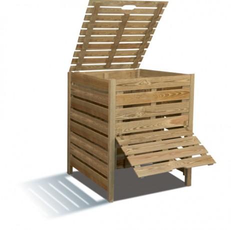 Composteur en bois 800 L