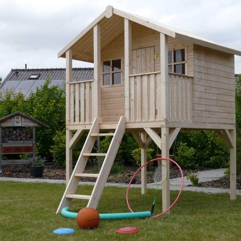maison en bois enfants sur pilotis noah. Black Bedroom Furniture Sets. Home Design Ideas
