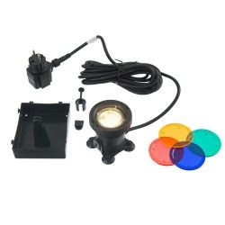 Spot aquatique AquaLight 30 LED 4 couleurs par lampe