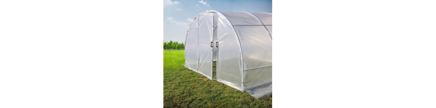 serres tunnel pied droit serre tunnel pour jardin vente. Black Bedroom Furniture Sets. Home Design Ideas