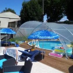 Découvrez nos abris piscine ou spa, qui protègeront des intempéries, des feuilles mortes et autres végétaux ou encore des poussières. Ainsi, le nettoyage sera facilité et la saison des baignades sera prolongée puisque l'abri piscine retiendra la chaleur pour profiter de la piscine en arrière saison ! Livrés en kits, nos abris piscine sont facile à assembler.